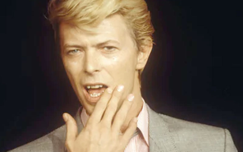 David Bowie – songwriter and singer/songwriter